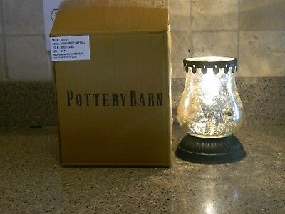 Pottery barn surrey ambient table lamp silver mercury glass small pottery barn surrey ambient table lamp silver mercury glass small light nib mozeypictures Choice Image