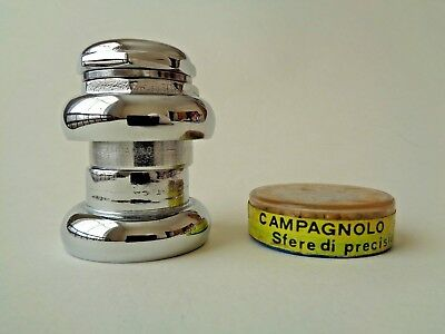*Rare Vintage 1950s Campagnolo Gran Sport 'open c' headset with NOS bearings*