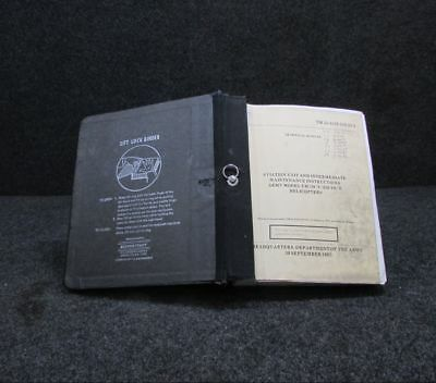 1987 UH-1H Models Helicopter Maintenance Instructions Manual BD