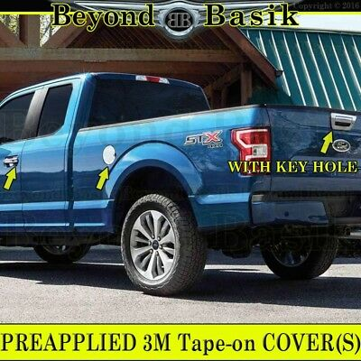 2015-2016 Ford F150 4Door Handle W//O Pgkh+Tailgate w//o kh+TailLight Chrome Cover