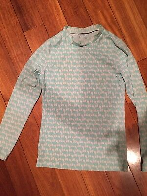 j crew crewcuts Rash Guard Girls Size 12