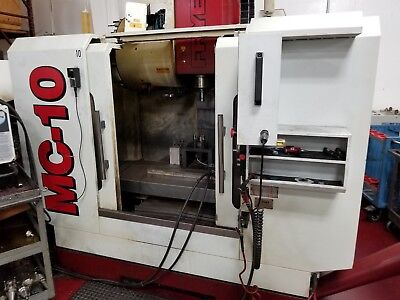 Used Fryer MC-10 CNC Vertical Machining Center Mill 30x20 TSC Anilam Touch 2010