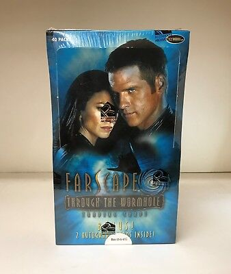 Farscape Through the Wormhole - Sealed Trading Card Hobby Box - Rittenhouse 2004