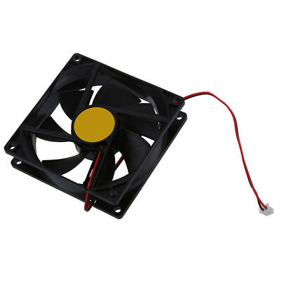 92mm x 25mm DC 12V 2Pin 65.01CFM Computer Case CPU Cooler Cooling Fan M7C2