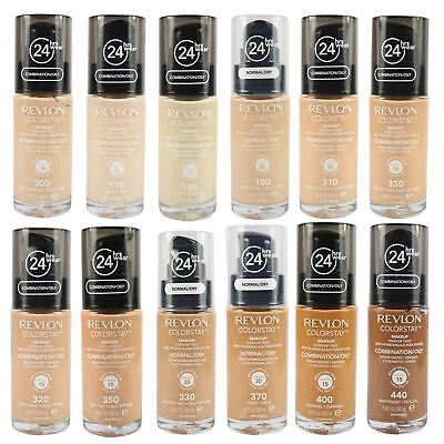 Revlon ColorStay Foundation Full Coverage 24hrs Wear SPF Oil Free Matte Makeup