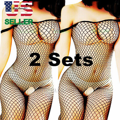 New Fishnet Body Stockings Sleepwear Adult Bodysuit Women's Lingerie Babydoll