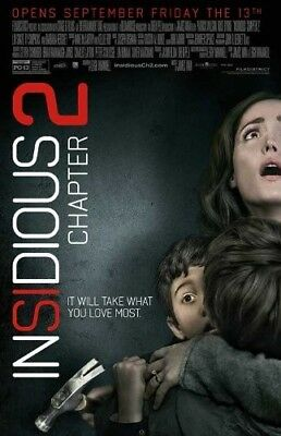 Insidious Chapter 2- Original 2-sided 27x40 Cinema Movie Poster