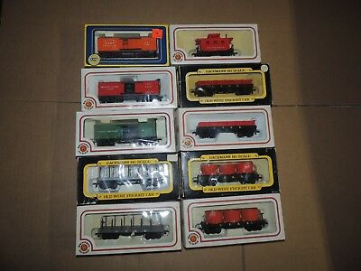 HO Scale Old West Freight Cars, (10) total, New In Boxes