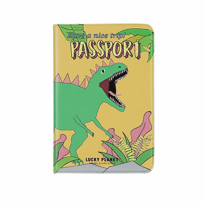 LUCKY PLANET- anti skimming 3M passport case/ wallet/ cover-MY PET DINO