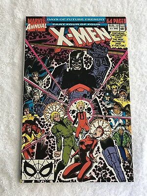 Uncanny X-men Annual 14 First Cameo Apperance Gambit before 266 Hot Key Movie