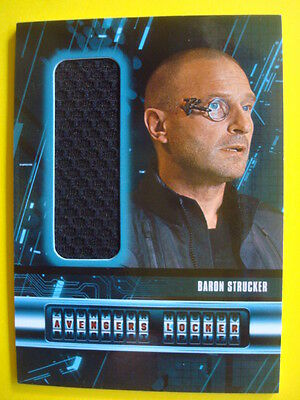 2015 UD *AVENGERS - Age of Ultron**Movie Costume/Relic Card AL-SV Baron STRUCKER