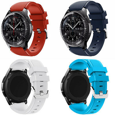 Silicone Bracelet Strap Watch Band For Samsung Gear S3 Frontier/Classic 22mm TOP