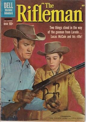 The Rifleman # 2 Chuck Connors & Johnny Crawford Photo Cover