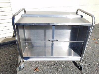 Piper /Servolift Eastern Model D-122-35 Stainless Steel Dish Mobile Cart