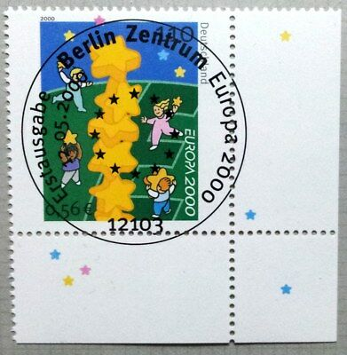 Germany 2000 : Europe/Cept. Corner stamp with special cancel