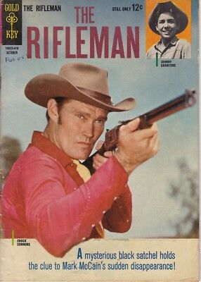 The Rifleman # 20 Chuck Connors & Johnny Crawford Photo Cover