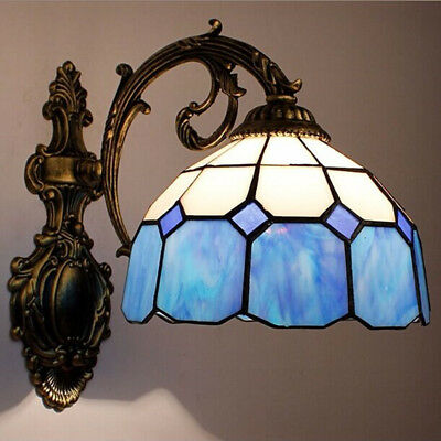 Tiffany Style Handcrafted Stained Glass Wall Lamp Wall Mounted Lamp Decor Light