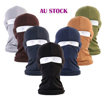 AU Motorcycle Bike Full Face Scarf Mask Ultra Head Hood Neck Ski Balaclava Mask