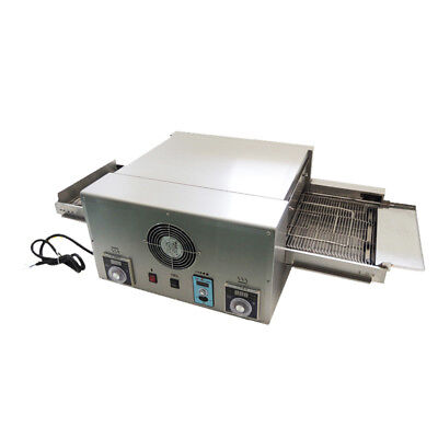 12'' Commercial 220V 6.4kw Electric Pizza Sandwich Oven Conveyor
