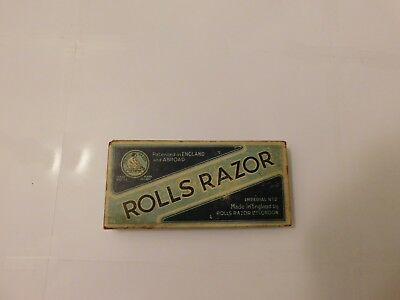 Rolls Razor Vintage  1927 Shaving Kit Original Box And Papers Imperial No. 2