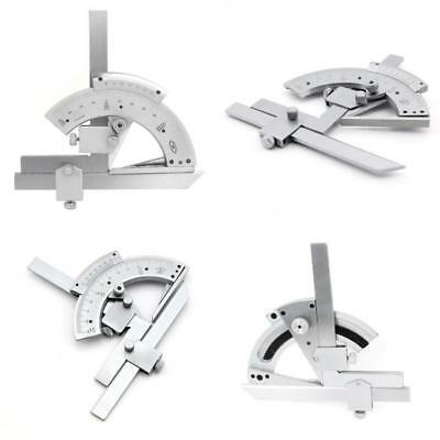 Agile-Shop 0-320° Universal Stainless Steel Vernier Bevel Protractor, Precision