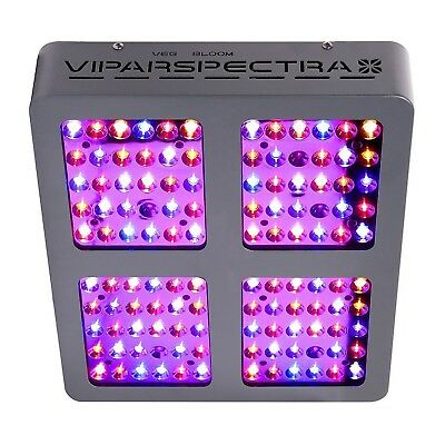 VIPARSPECTRA Reflector 600W LED Grow Light Full Spectrum Plants Flower Indoor