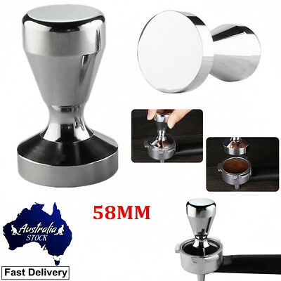 58MM Coffee Tamper Stainless Steel Polished Tampa Tamp Espresso Barista