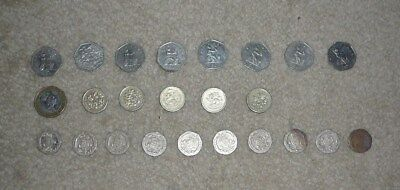 £14 In British Pounds, Spending Money For Your Next Trip To The Uk!