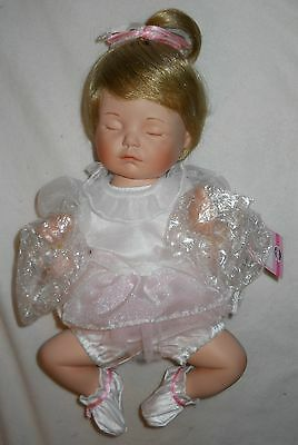 "Ashton-Drake ""ashley"" Baby Ballerina ""picture Perfect Moments"" Collection, Nib!"