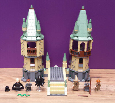Lego Harry Potter Hogwarts 4867 with minifigures and instructions