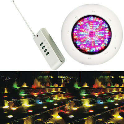 36W RGB Underwater Light Swimming Pool Light with Remote Controller IP68