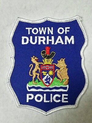 Town Of Durham, Canada Police Shoulder Patch