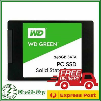 WD SSD 240GB Green Western Digital Internal Solid State Drive HDD Laptop 2.5''