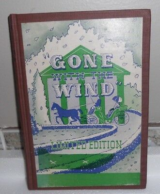 Novelty Joke Book No.875 Gone with the Wind 1939 H Fishlove & Co Limited Edition