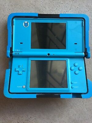 NINTENDO DSi Blue System NOT WORKING For Parts or Repair AS-IS Tested READ!