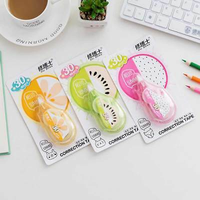 Cute Fruit Correction Tape Decorative School Office Supplies Stationery Tape Hot