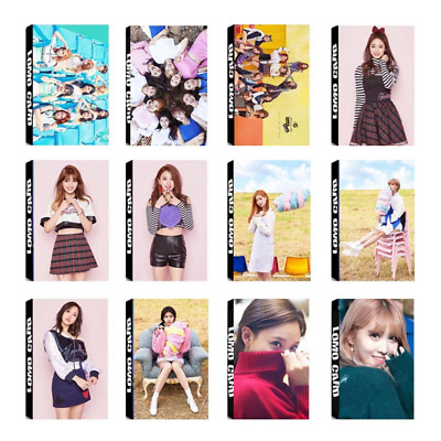Lot of & KPOP TWICE Album PhotoCard Poster Photo Card Lomo Card Bookmarks