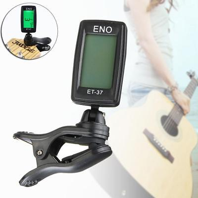 Chromatic Clip-On Digital Tuner for Acoustic Electric Guitar Bass Violin LCD FA
