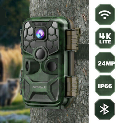 "Campark Sports Camera 4K 16MP WiFi FHD 2.0"" LCD Underwater PRO Action Camcorder"