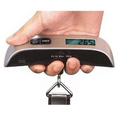 50kg/10g Portable Hanging Electronic Digital Travel Suitcase Luggage Scales FA