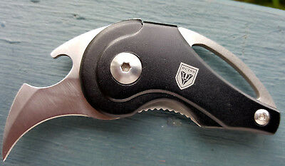 Ruiss - Keychain Karambit bottle opener pocket knife swiss army military folding