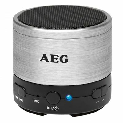 AEG Portable Wireless Stereo Bluetooth Speaker with 5 h Music Playback BSS 4826