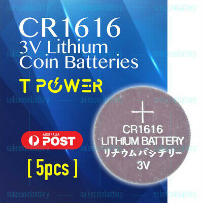 10x Naccon CR1616 3V Cell Coin Lithium Button Battery Batteries Stock in Mel