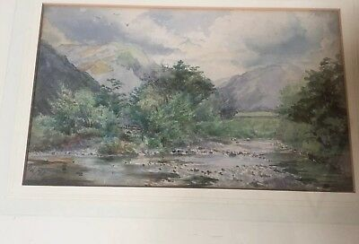 A Pair Of Early 20th Century Watercolours