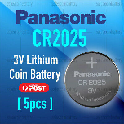 5x PKCELL CR2025 3V Cell Coin Lithium Button Battery Batteries Stock in Melbour