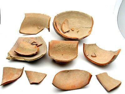 Fragments Of Indus Valley Terracotta For Restoration - Rare Artifact - L410