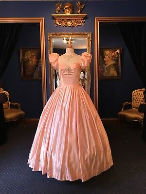 "Beautiful Theatrical Victorian Evening Dress Made For""King And I"" Stunning Item!"