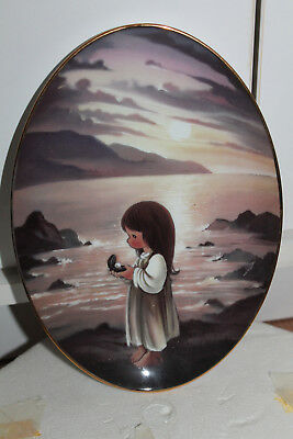 The Hamilton Collection Precious Moments 'The Pearl of Great Price' Plate, 1995