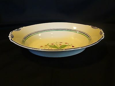 """Syracuse Old Ivory China - Coralbel - 10"""" Oval Serving Bowl"""