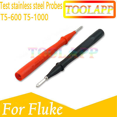 TP1 Probes for Fluke T5-1000 T5-600 Slim Reach Test lead stainless steel AU
